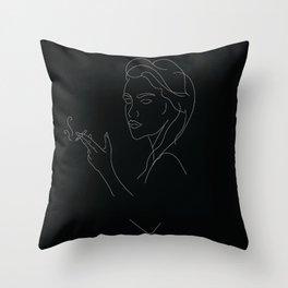 Smokin' Throw Pillow