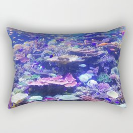 School Of Fish Rectangular Pillow