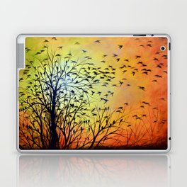 Abstract Landscape Original Painting...HOMEWARD Laptop & iPad Skin