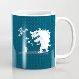 Beat Your Monters Coffee Mug