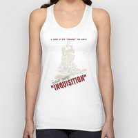 dragon age inquisition Tank Tops featuring Inquisition by PsychoBudgie