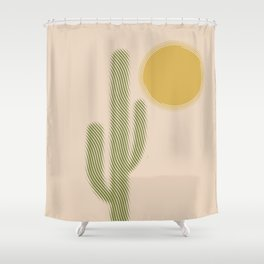 Sweating Shower Curtain