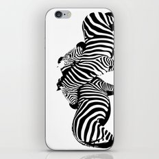 Two Color Love iPhone & iPod Skin