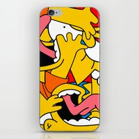 simpsons iPhone & iPod Skins featuring Simpsons by Startled Artist