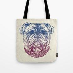 Gritty Bulldog Tote Bag