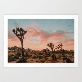 Joshua Tree IX / California Desert Art Print
