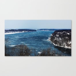 Endless Blue Canvas Print