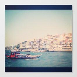 Porto and a River Canvas Print