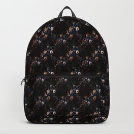Floral Borders Backpack
