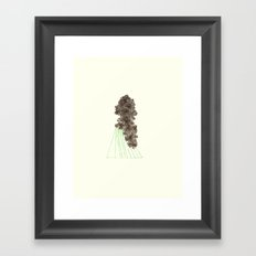 Future Trees Framed Art Print