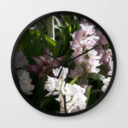 Longwood Gardens Orchid Extravaganza 8 Wall Clock
