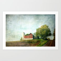 Rural Morning Art Print