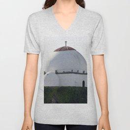 Arab Mosque Unisex V-Neck