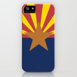 Flag of Arizona iPhone Case