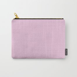 Classic Rose Pink Pixel Dust Carry-All Pouch