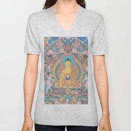 BUDDHA PEACE Unisex V-Neck