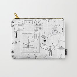 schematic Carry-All Pouch