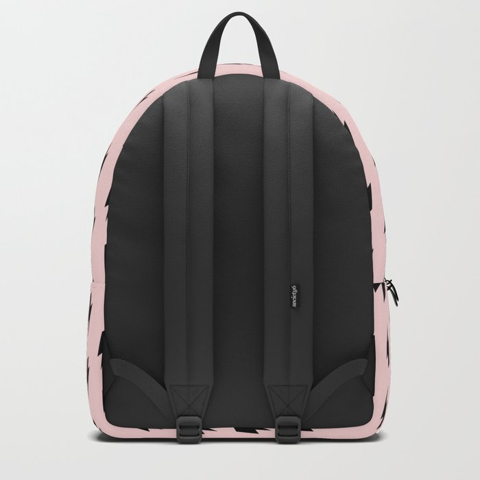 Lightning Bolts Blush Backpack