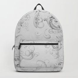 Grisaille Scrolls Backpack