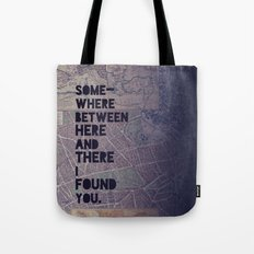 Here & There Tote Bag