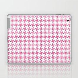 Watermelon Pink Houndstooth pattern Laptop & iPad Skin