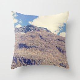 Sognefjord V Throw Pillow