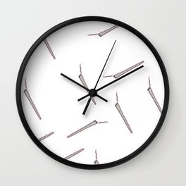 All my Joints white Wall Clock