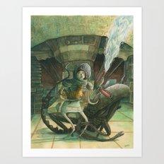 Ripley - ALIEN Art Print