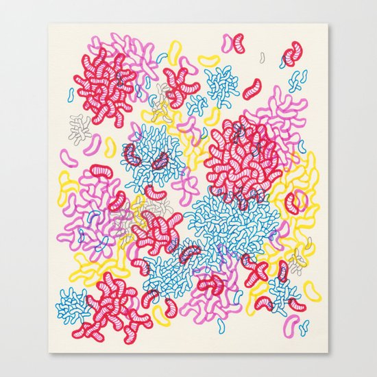 Party Painting Canvas Print