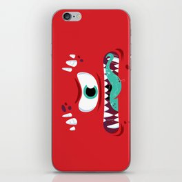 Baddest Red Monster! iPhone Skin