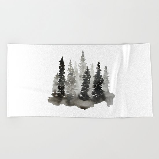 Fading Forest Beach Towel