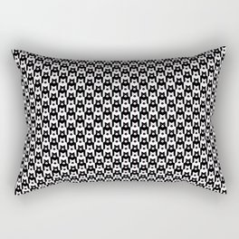 Pupstooth Pattern Rectangular Pillow