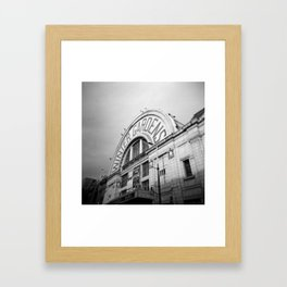 Winter Gardens Framed Art Print