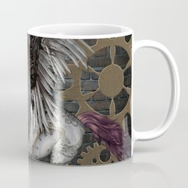 Steampunk, awesome steampunk horse with wings Coffee Mug