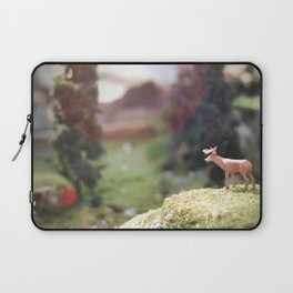 Temporary Happiness part 1 deer Laptop Sleeve