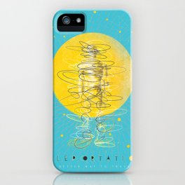 Teleportation - A Better Way to Travel iPhone Case
