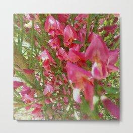 """""""Earth Laughs in Flowers"""" Metal Print"""