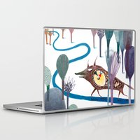 tom selleck Laptop & iPad Skins featuring Tom Thumb by Paloma Corral