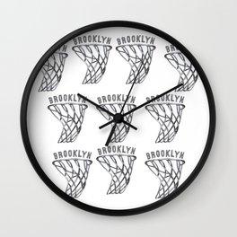 BROOKLYN HAND-DRAWING DESIGN Wall Clock