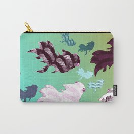 Dancing Fishes Carry-All Pouch