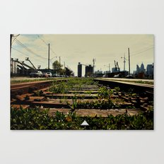 Right Side Of The Tracks Canvas Print