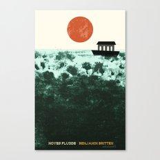 Noyes Fludde - Benjamin Britten Canvas Print