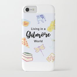 Living in a Gilmore world iPhone Case