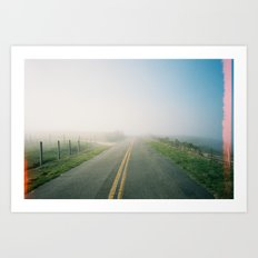 Road to Point Reyes  Art Print
