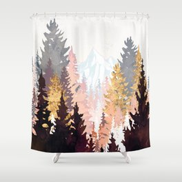 Wine Forest Shower Curtain