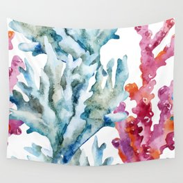 Sea Life Pattern 02 Wall Tapestry