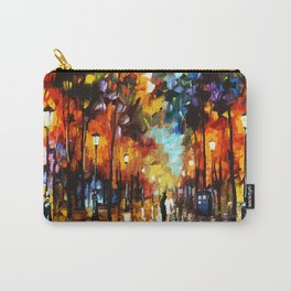 Tardis Art Stay Looking Carry-All Pouch