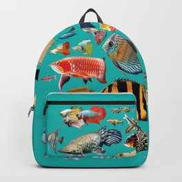 Freshwater tropical fish 2 Backpack