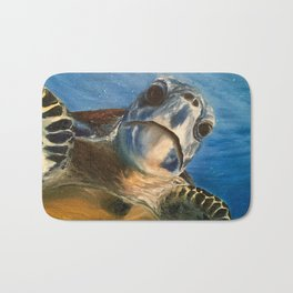 Nosey Turtle Bath Mat