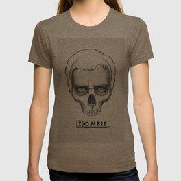 Gregory House Skull House MD Art T-shirt